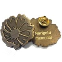 Marigold broche