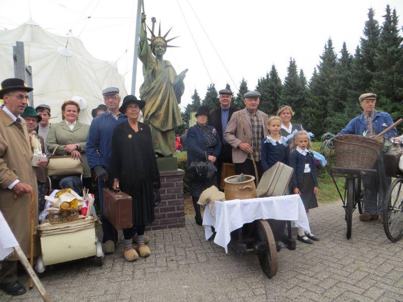 bevrijdingsmuseum evacuatiegroep vrijheidsbeel