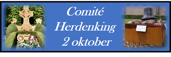 Logo comite herdenking 2 oktober
