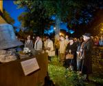 Een druk bezochte 2 oktober bombardement herdenking in Huissen.
