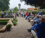 Indrukwekkende herdenking tijdens de Exodus wandeltocht