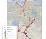 Nieuw!!!  Exodus WOII fietsroute 27km