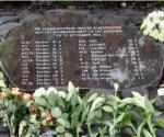 WOII monument Looveer verlicht