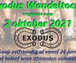 Exodustocht in 2021 verplaatst naar 2 oktober
