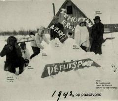 1942 arch arnold janssen paasavond (3) locatie paasavond met namen