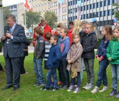 Herdenking Evacuatiemonument Arnhem