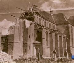 doornenburg verwoeste RK kerk
