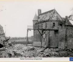 kasteel doornenburg oorlogsschade