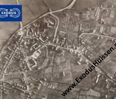 luchtfoto Huissen december 1944