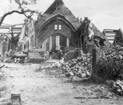 Ruine kerk 2 1945