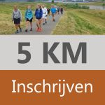 5 km inclusief medaille of pin