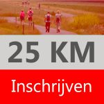 25 km inclusief medaille of pin